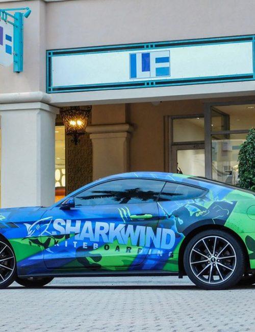 sharkwind mustang